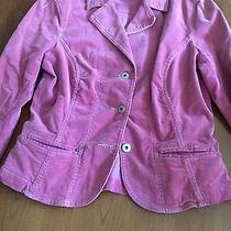 Sanctuary Anthropologie Pink Rose Corduroy Jacket Coat Women's Size S Small Photo