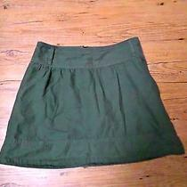Sanctuary Clothing Army Green Cotton Skirt Size Small  Photo