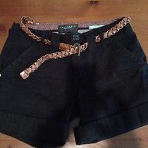 Sanctuary Clothing Black Shorts Sz24 Photo