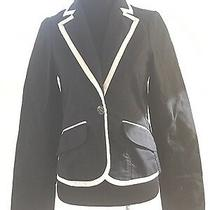 Sanctuary Clothing Los Angeles Black and White Trim Blazer Size Xs Photo