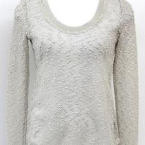 Sanctuary Clothing Womens Beige See-Through Sweater Size Xs Photo
