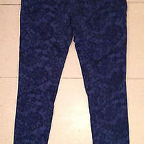 Sanctuary Jeans Blue on Blue Pattern Size 27 Photo