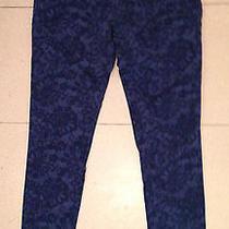 Sanctuary Jeans Blue on Blue Pattern Size 27 Photo