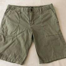 Sanctuary Olive Green Bermuda Walking Shorts Size 29 Euc Photo