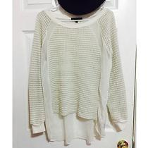 Sanctuary Sweater - White - Medium Photo