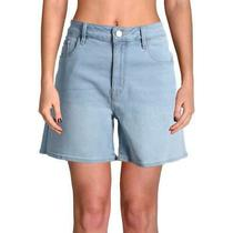 Sanctuary Womens Long Weekend Blue Denim Mid Rise Jean Shorts 29  3769 Photo