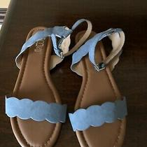 Sandals Blue Express Size 6.5 Photo