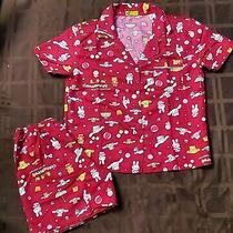Sanrio Cinnamoroll Character Red Pajamas Set  Photo