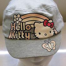 Sanrio Hello Kitty Americana Baseball Cap One Size Fit  Pink Rainbow Hat Used Photo