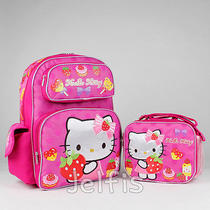Sanrio Hello Kitty Backpack and Lunch Box Set - Bakery Sweets Pink 16
