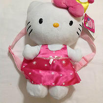 Sanrio Hello Kitty Backpack Pink Princess Kitty Girls Accessories Plush  Photo