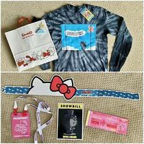 Sanrio Hello Kitty Friends Around the World Tour La Long Sleeve Tee Plus Extras Photo