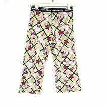 Sanrio Hello Kitty Medium M W/ Glasses Green & Pink Pant Star Pajamas Girls  Photo