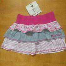 Sanrio Hello Kitty Tiered Pink Grey Skirt Sz. 5 Nwt Photo