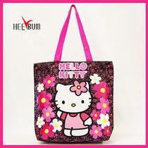 Sanrio Hello Kitty Tote Bag School Bag Women Girl Fashion Shoulder Bag Handbag Photo