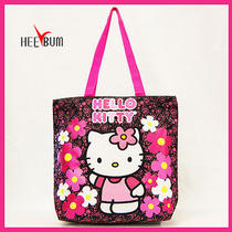 Sanrio Hello Kitty Tote Bag School Bag Women Girl Fashion Shoulder Bag Handbag Photo