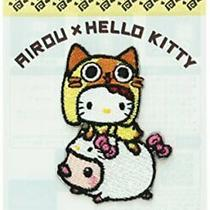 Sanrio Hello Kitty X Monster Hunter Airou Patch Sticker (Hello Kitty) From Japan Photo