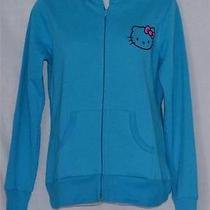 Sanrio Hello Kitty Zip Hoodie Sweatshirt  Juniors Size Small Photo