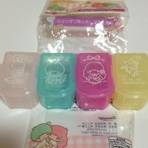 Sanrio Little Twin Stars Cute Pill Box Photo
