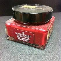 Saphir Medaille d'or Rouge 12 Creme 1925 Hermes Red Shoe Polish Cream Jar French Photo