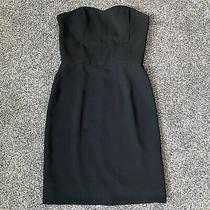 Sara Campbell Black Strapless Dress 4 Photo