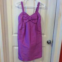 Sara Campbell Designer Dress 2 Orchid Purple Silk Short Party Prom Formal Photo