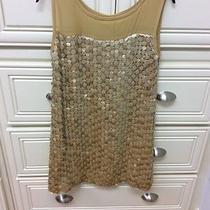 Sara Campbell Gold Dress Size Small Photo