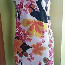 Sara Campbell Print Dress Size 8 Photo
