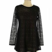 Sara Campbell Women Black Long Sleeve Top Xs Photo