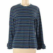 Sara Campbell Women Blue Long Sleeve T-Shirt M Photo