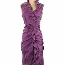Sara Campbell Women Purple Cocktail Dress 8 Photo