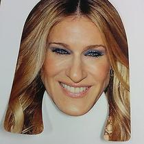 Sarah Jessica Parker Celebrity Face Mask Hen Stag Party Hollywood Tv Fancy Dress Photo
