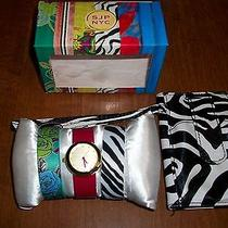 Sarah Jessica Parker Watch & 3 Watchbands Zebra Cell Phone & Credit Card Holder Photo
