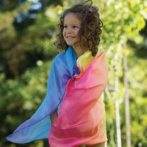 Sarah's Silks Playsilk Rainbow Fantasy Square for Costumes or Fun - 567516 Photo