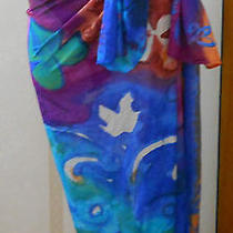 Sarong Wrap by Gottex Multicolor Beach Cover Photo