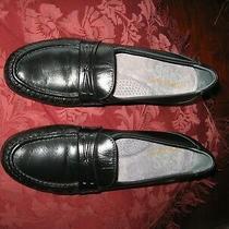 Sas Black Genuine Leather Tripad Comfort Shoes 7 1/2 S 1-1/4