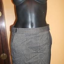Sassy & Trendy Theory Size 4 Mini Skirt Brown Tweed Photo
