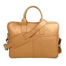Satchel for 13-Inch Laptop - Natural - Smooth Leather Photo