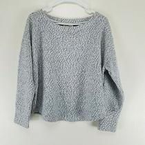 Saturday Sunday by Anthropologie Large Sweater Gray Crew Neck  Photo