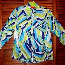 Saucany Windbreaker Running Jacket Size Medium Women's  Usb Rechargeable Light  Photo