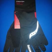 Saucony 3 Season Glove Black X-Small Photo