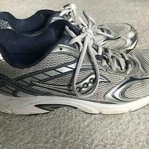 Saucony Apex 2 Grey/blue Men Walking/running Shoe Size 11 Photo
