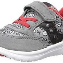 Saucony Children Shoes S-Baby Jazz Lite Gy/rdprt Grey/red Pirate Size 8.0 I6cf Photo