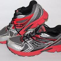 Saucony Cohesion 6 Lite Running Shoes9y5491 Gry/red/bkmen's Us 7 or 7 Youth Photo