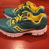 Saucony Cohesion S15218-14 Womens Running Training Shoes Turquoise Size 6 Photo