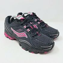 Saucony Excursion Tr5 Black Pink Athletic Running Shoes Womens Size 10 Photo