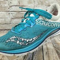 Saucony Fastwitch 8 Racing Running Athletic Shoes Women's Size 9.5 Teal / White Photo