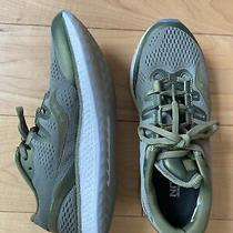Saucony Freedom Iso Mens 6.5 Womens 8 Olive Green Comfort Running Low Sneakers Photo