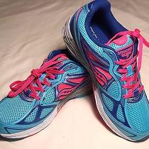 Saucony Girls Guide 7 Running Shoe Blue/pink/purple Us 5 Photo