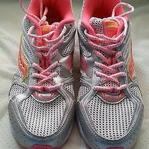 Saucony Girls Size 6.5m Multi-Color Sneakers Photo
